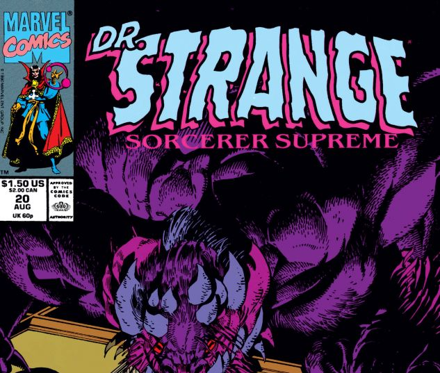 Cover for Doctor Strange, Sorcerer Supreme 20
