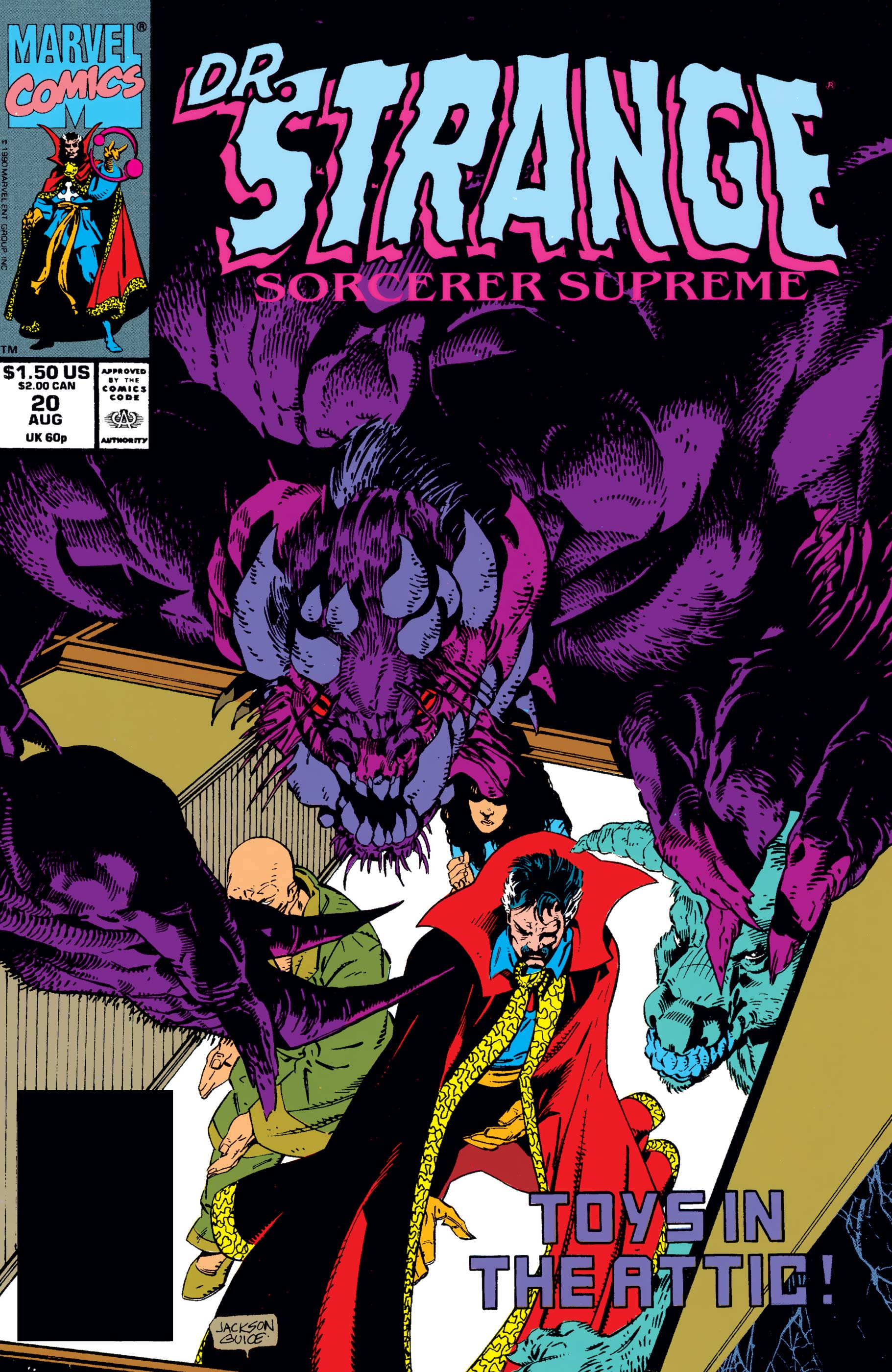 Doctor Strange, Sorcerer Supreme (1988) #20