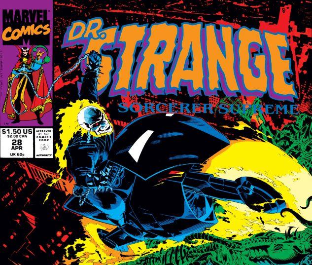 Cover for DOCTOR STRANGE, SORCERER SUPREME 28