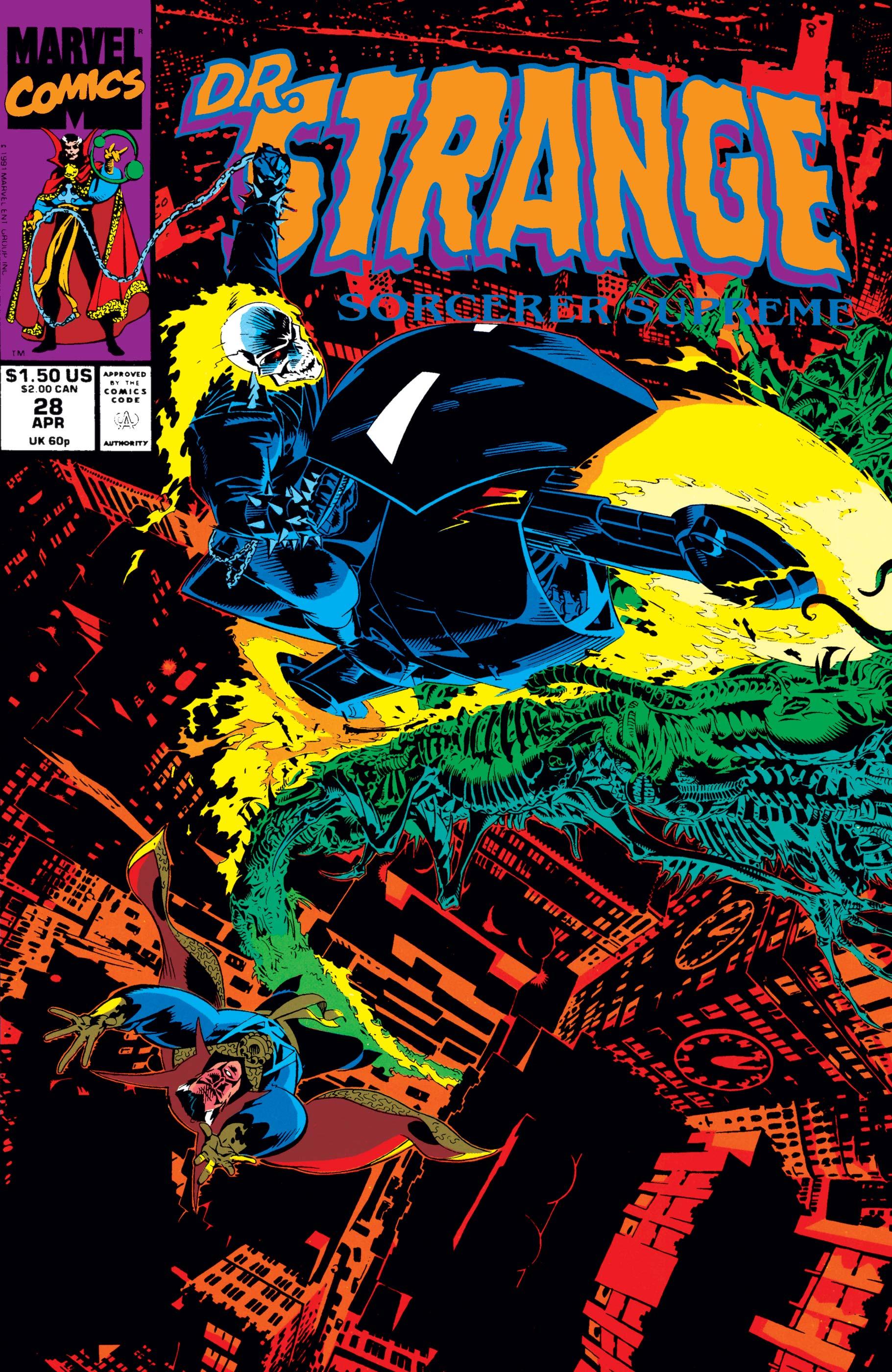 Doctor Strange, Sorcerer Supreme (1988) #28