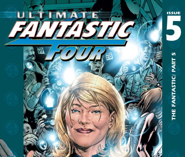 Ultimate Fantastic Four (2003) #5