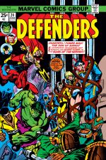 Defenders (1972) #24 cover