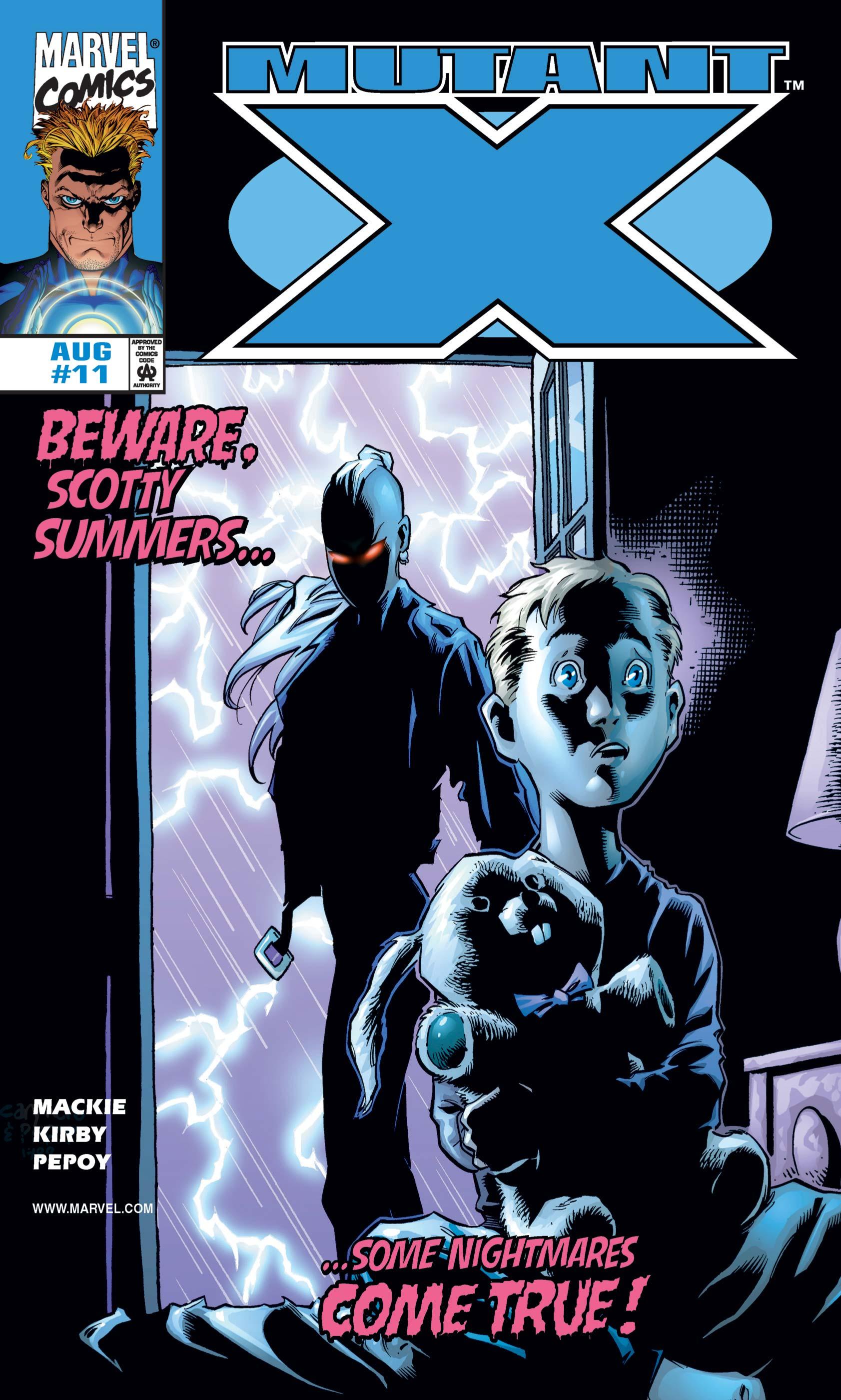 Mutant X (1998) #11
