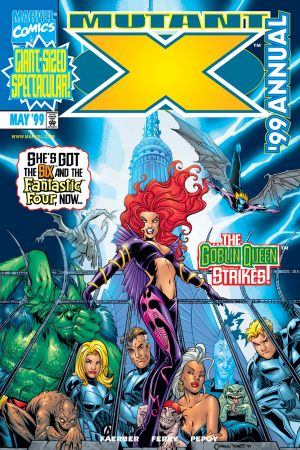 Mutant X Annual (1999) #1
