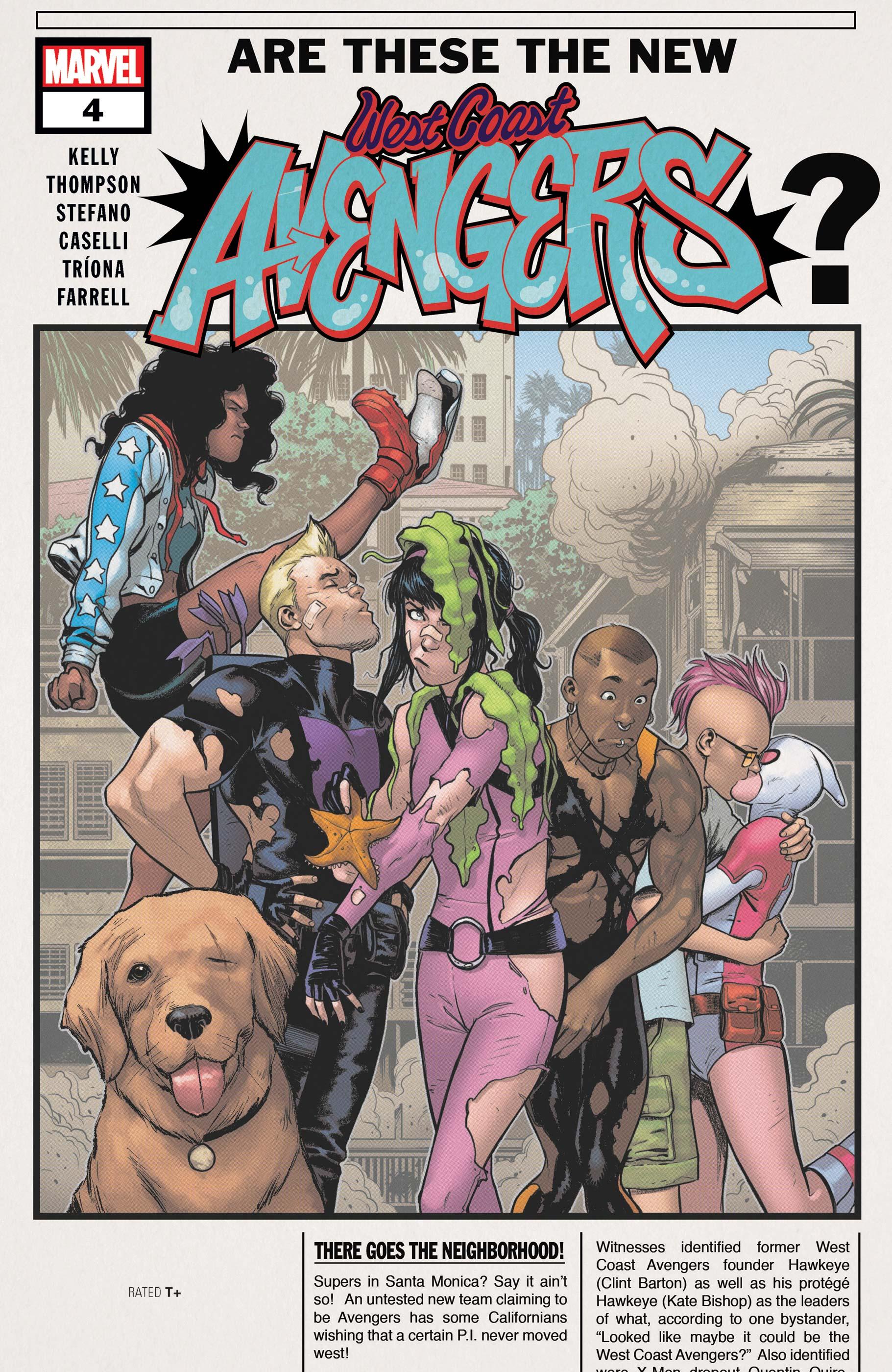 West Coast Avengers (2018) #4