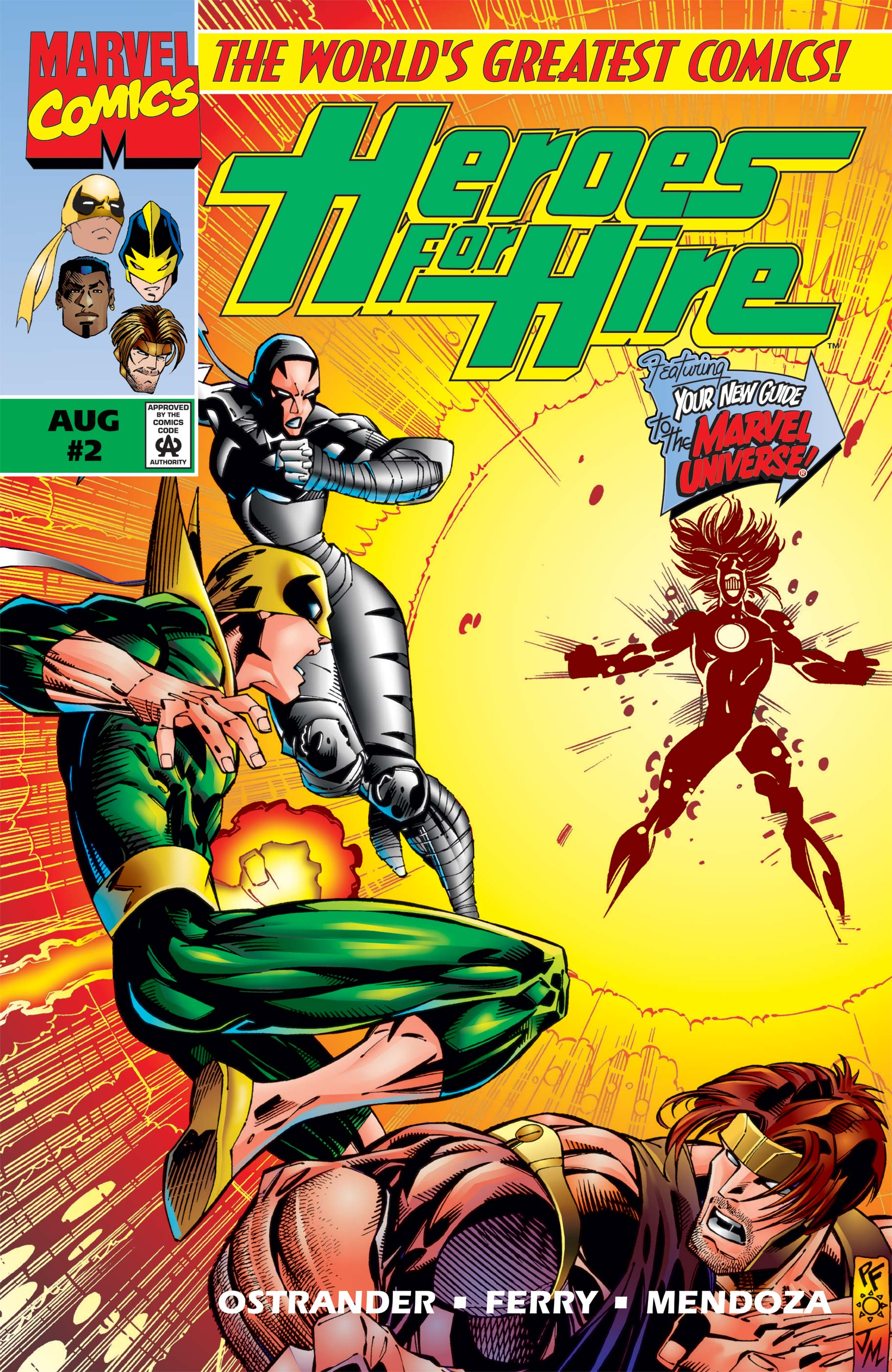 Heroes for Hire (1997) #4