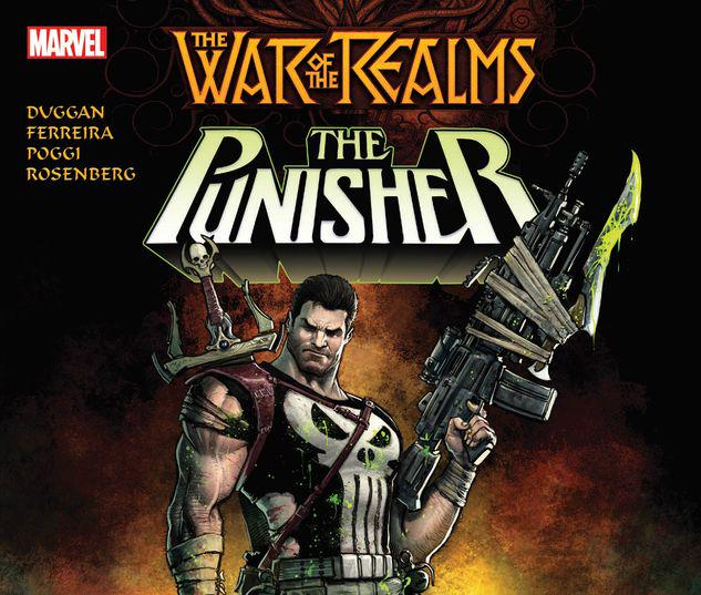 WAR OF THE REALMS: THE PUNISHER TPB #1