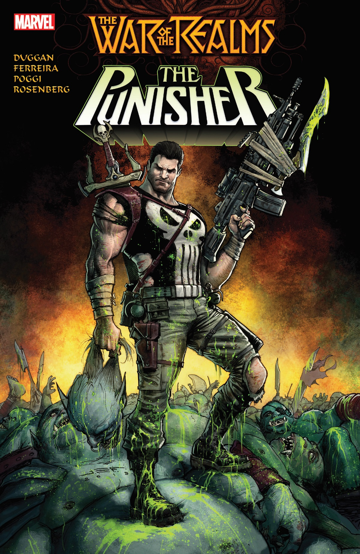 War Of The Realms: The Punisher (Trade Paperback)