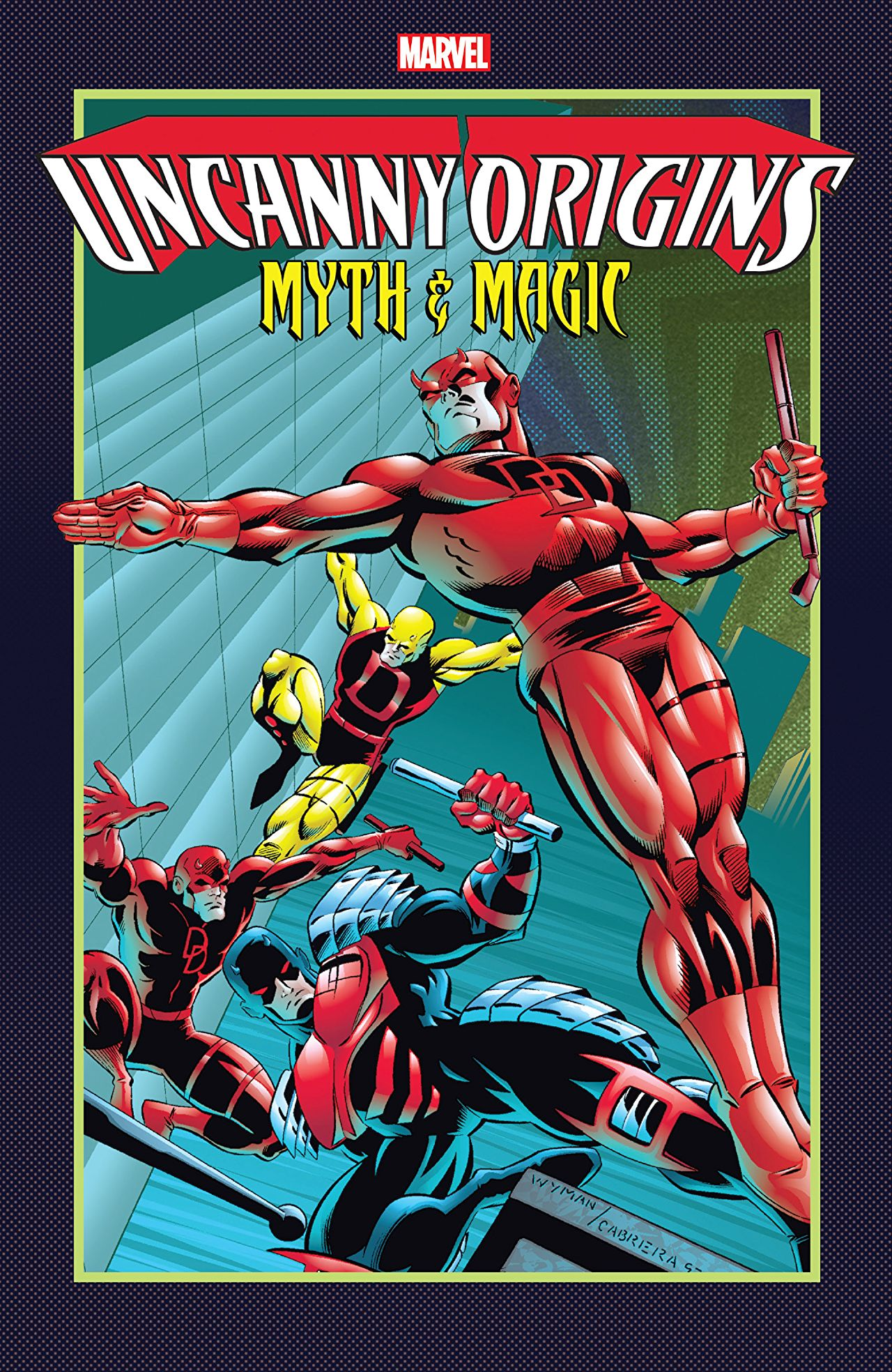 Uncanny Origins: Myth & Magic (Trade Paperback)