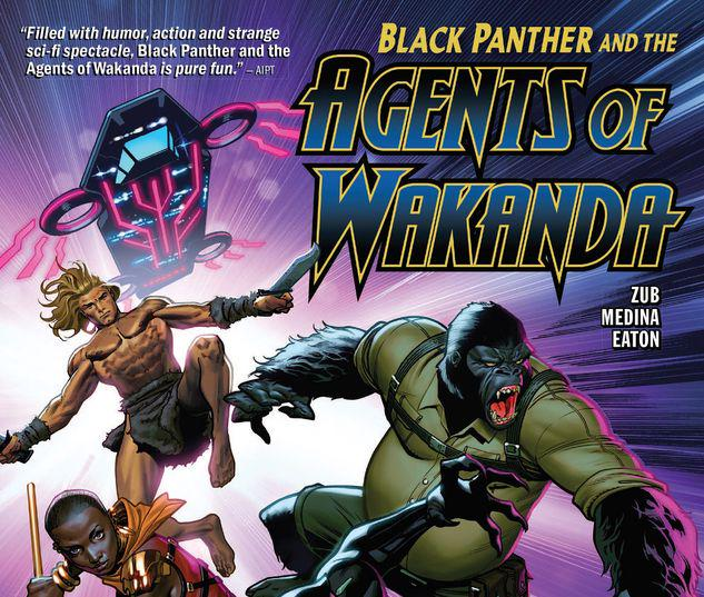BLACK PANTHER AND THE AGENTS OF WAKANDA VOL. 1: EYE OF THE STORM TPB #1