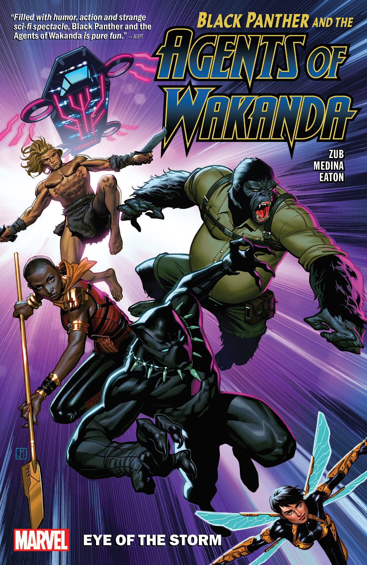 Black Panther And The Agents Of Wakanda Vol. 1: Eye Of The Storm (Trade Paperback)