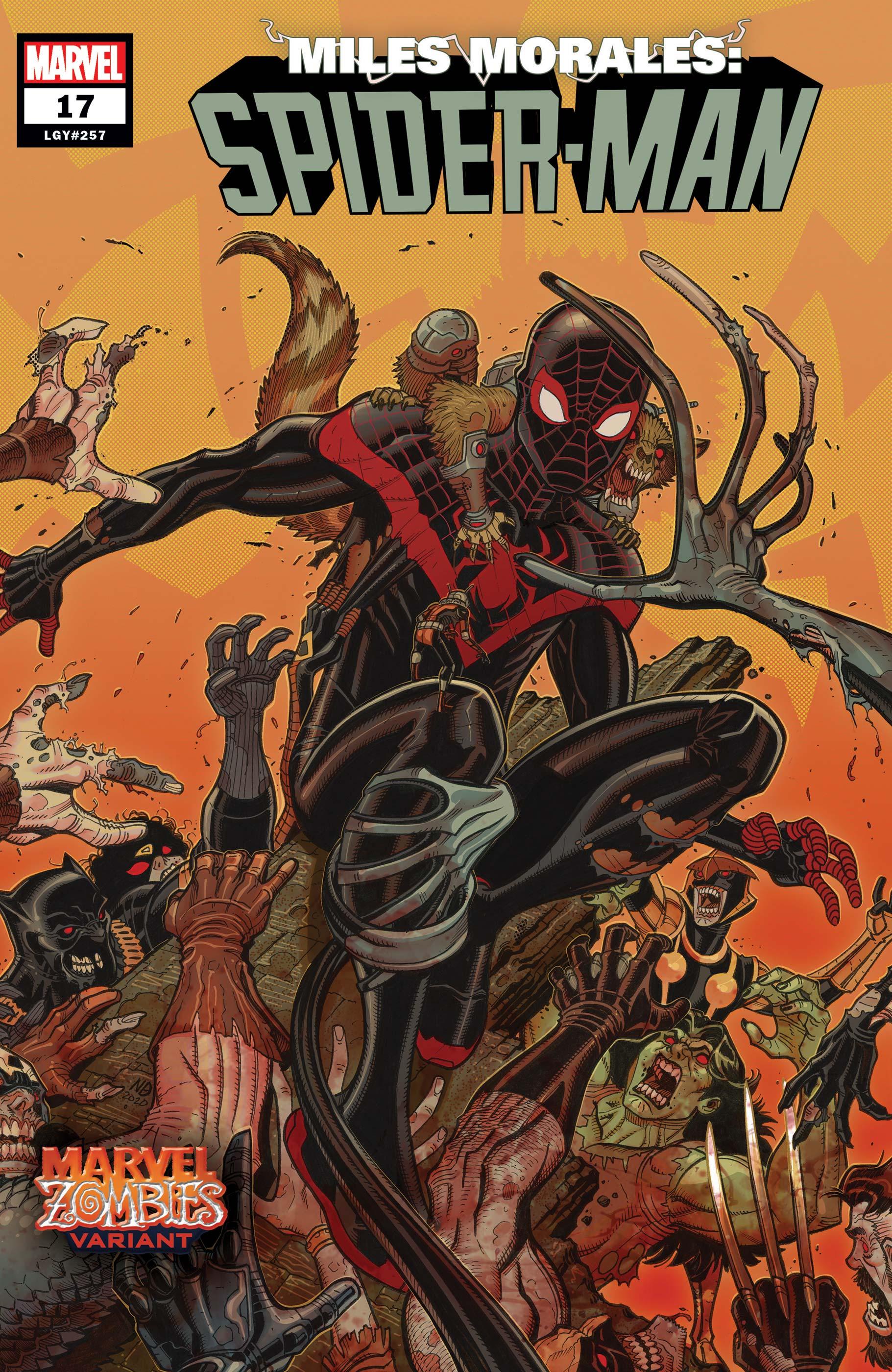 Miles Morales: Spider-Man (2018) #17 (Variant)