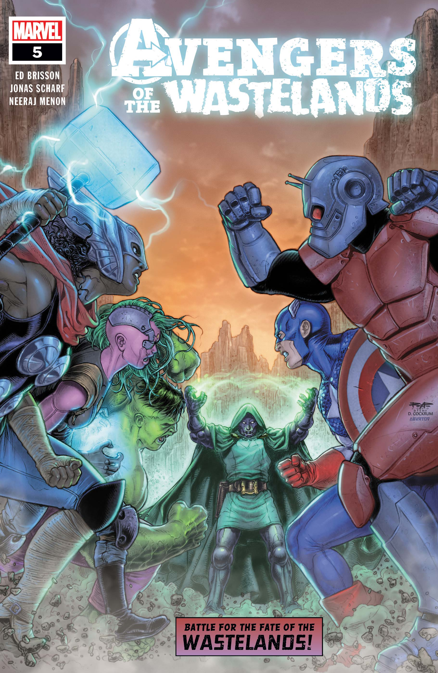 Avengers of the Wastelands (2020) #5