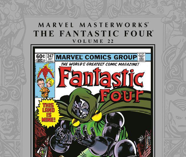 MARVEL MASTERWORKS: THE FANTASTIC FOUR VOL. 22 HC #22
