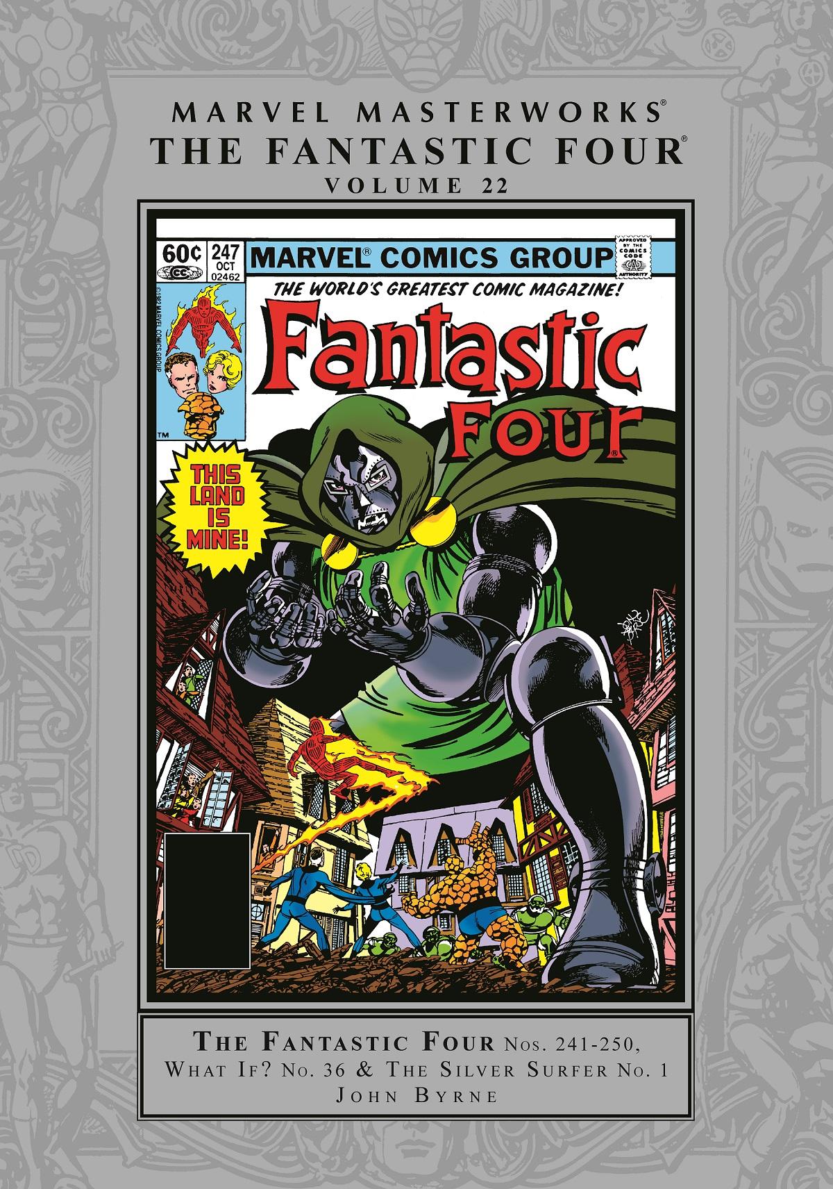 Marvel Masterworks: The Fantastic Four Vol. 22 (Hardcover)