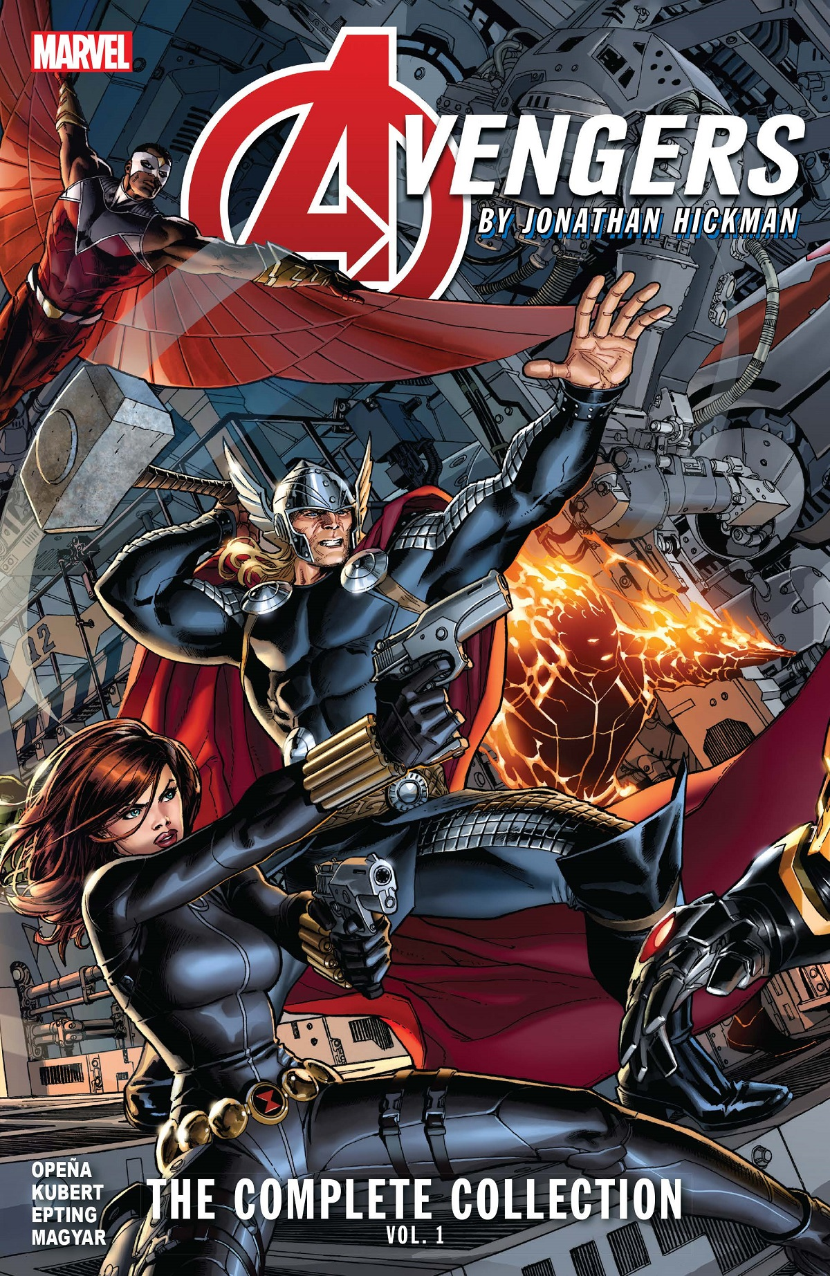 Avengers By Jonathan Hickman: The Complete Collection Vol. 1 (Trade Paperback)