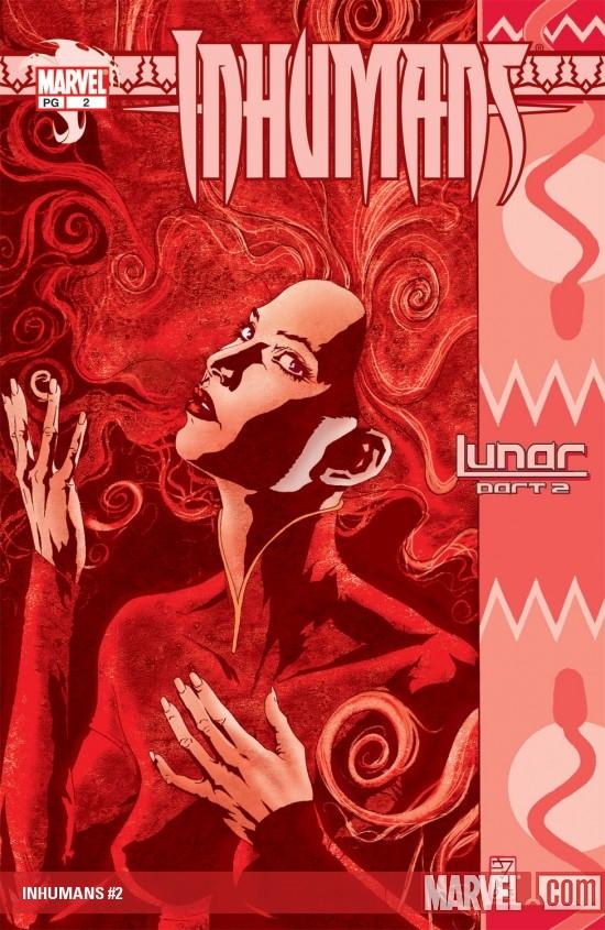 Inhumans (2003) #2