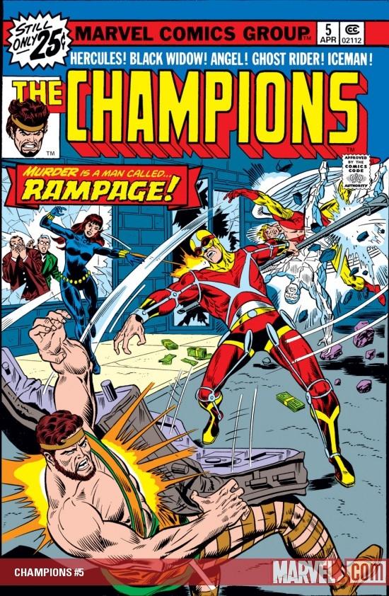 Champions (1975) #5