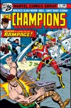 CHAMPIONS #5 COVER