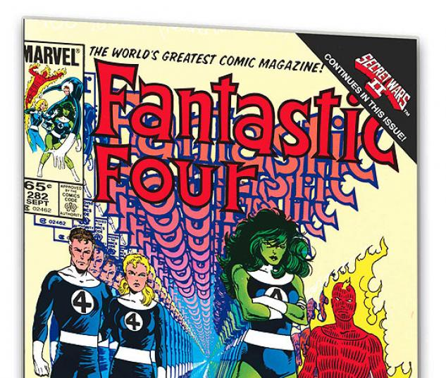 FANTASTIC FOUR VISIONARIES: JOHN BYRNE VOL. 6 COVER