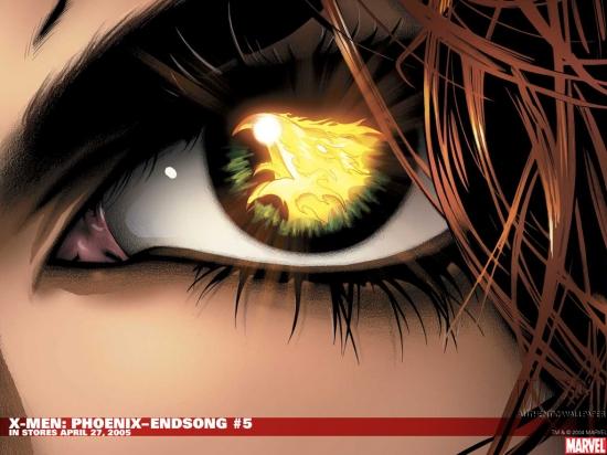 X-Men: Phoenix - Endsong (2005) #5 Wallpaper