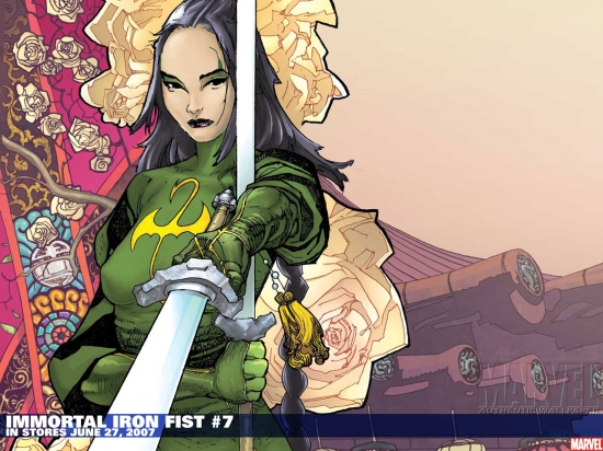 Immortal Iron Fist (2006) #7 Wallpaper
