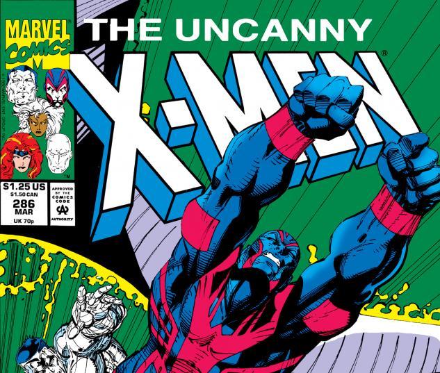 Uncanny X-Men (1963) #286 Cover