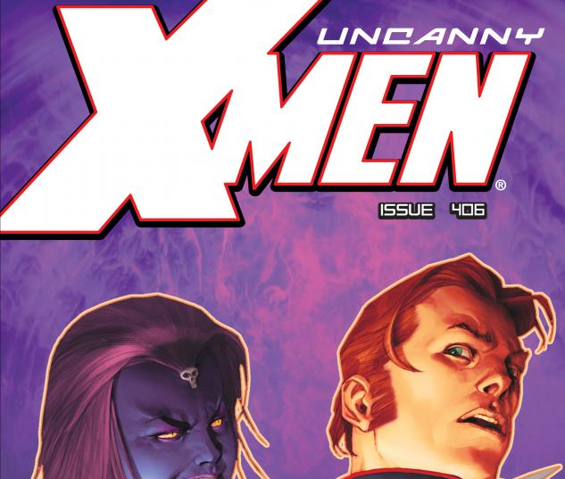 Uncanny X-Men (1963) #406 Cover