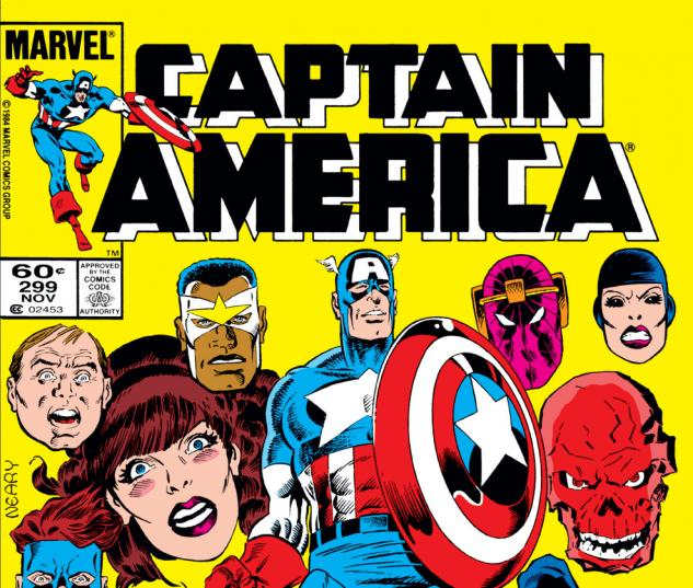 Captain America (1968) #299 Cover