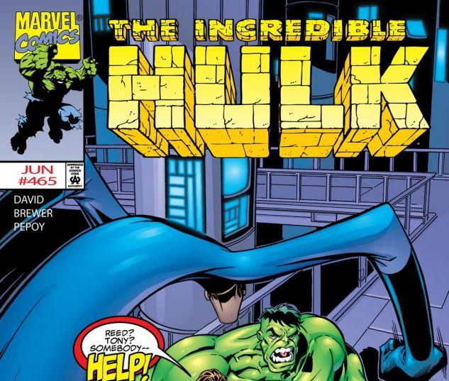Incredible Hulk (1962) #465 Cover