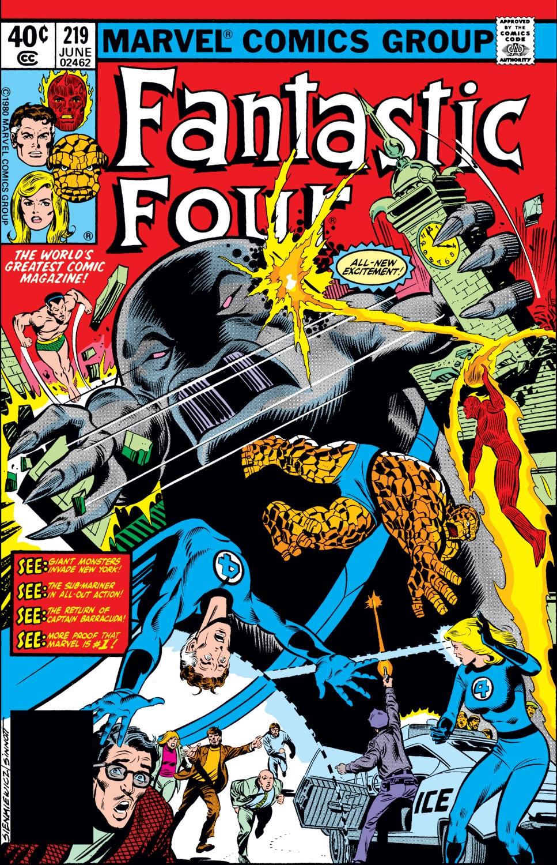 Fantastic Four (1961) #219