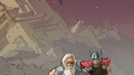 Marvel AR: Jason Aaron on Godbomb