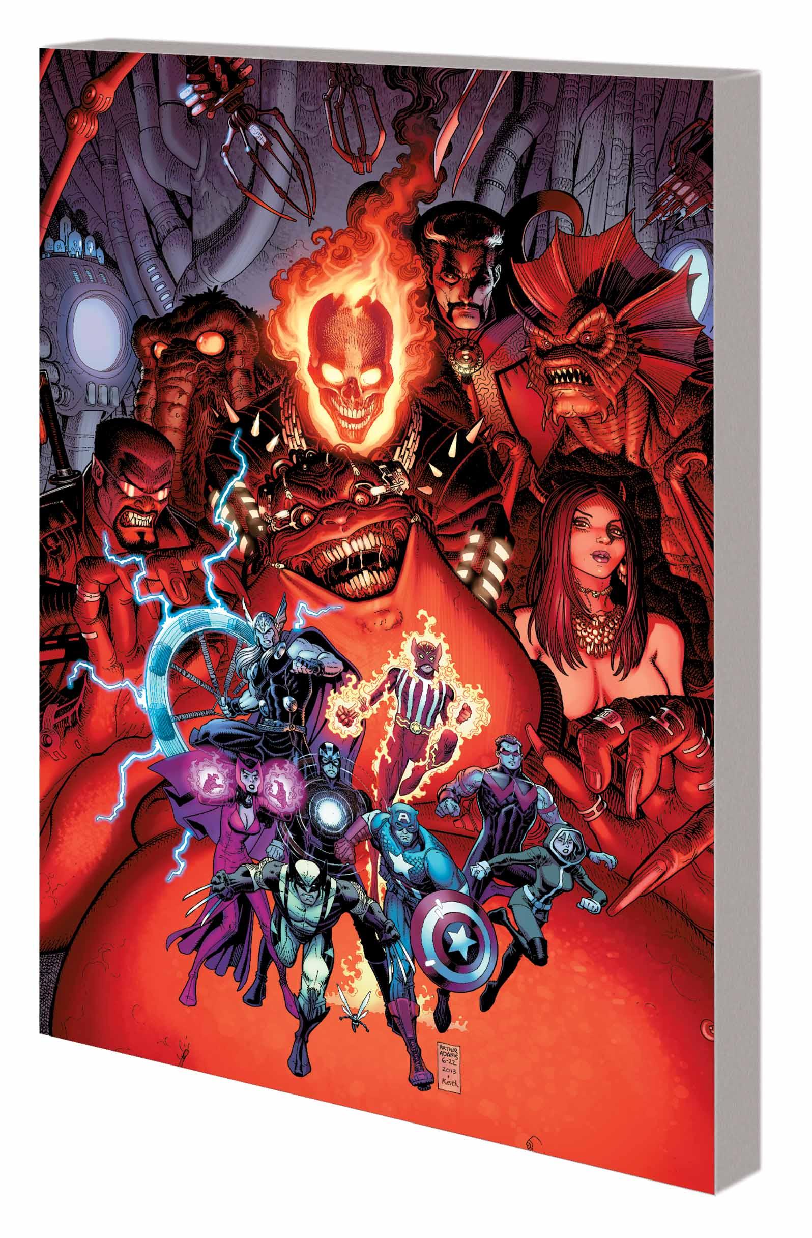 Avengers: Revelations (Trade Paperback)
