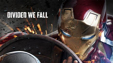 Chris Evans & Robert Downey Jr. star as Captain America & Iron Man in Marvel's Captain America: Civil War
