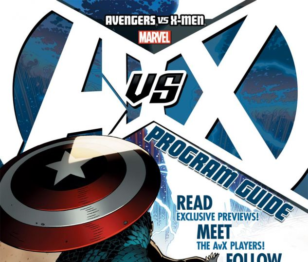 AVENGERS VS. X-MEN PROGRAM (2012) #1 Cover