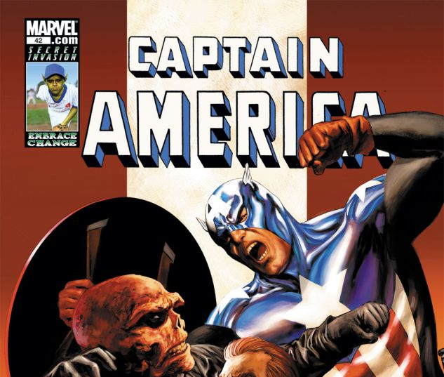 CAPTAIN AMERICA (2004) #42 Cover
