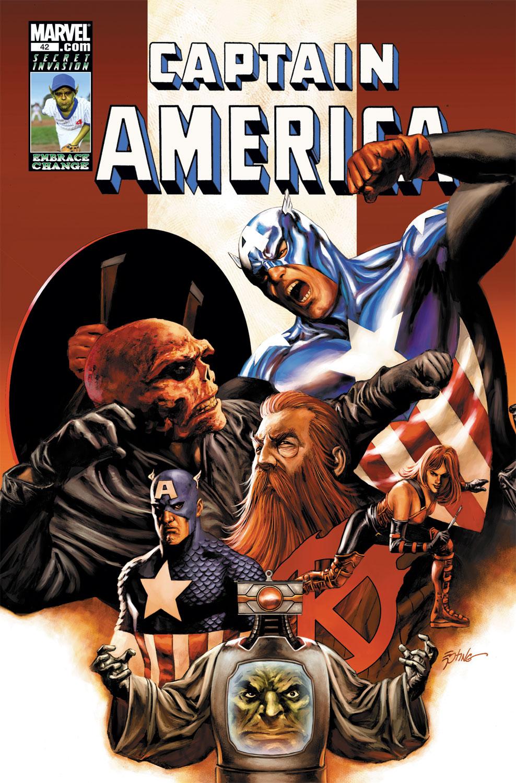 Captain America (2004) #42