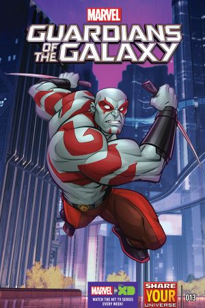 Marvel Universe Guardians of the Galaxy (2015) #13