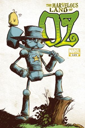 The Marvelous Land of Oz (2009) #4