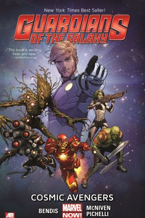GUARDIANS OF THE GALAXY VOL. 1: COSMIC AVENGERS PREMIERE HC (MARVEL NOW, WITH DIGITAL CODE) (Hardcover)