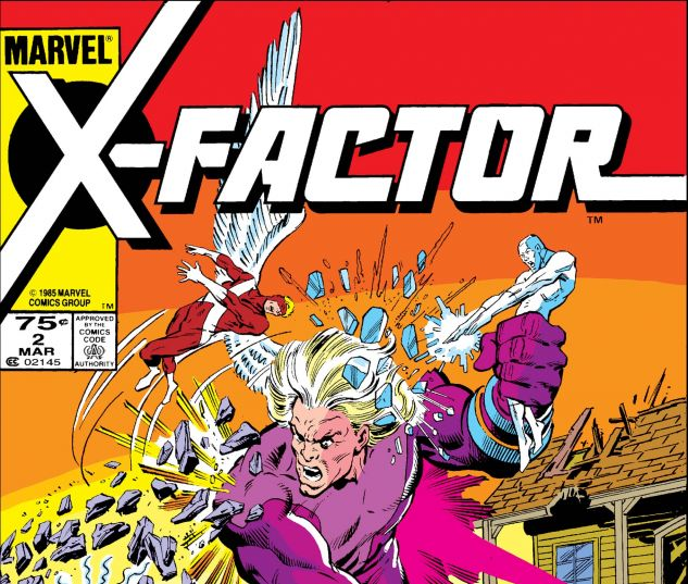 X-FACTOR (1986) #2