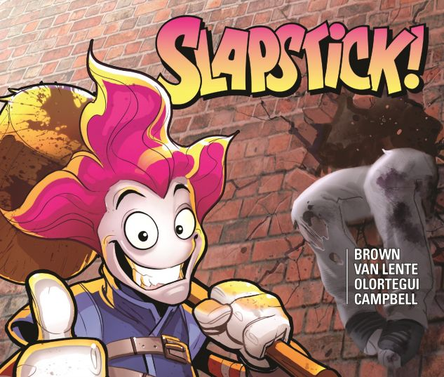 cover from Slapstick (2017)