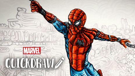 Spider-Man on Quickdraw