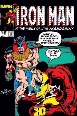 Iron Man #181