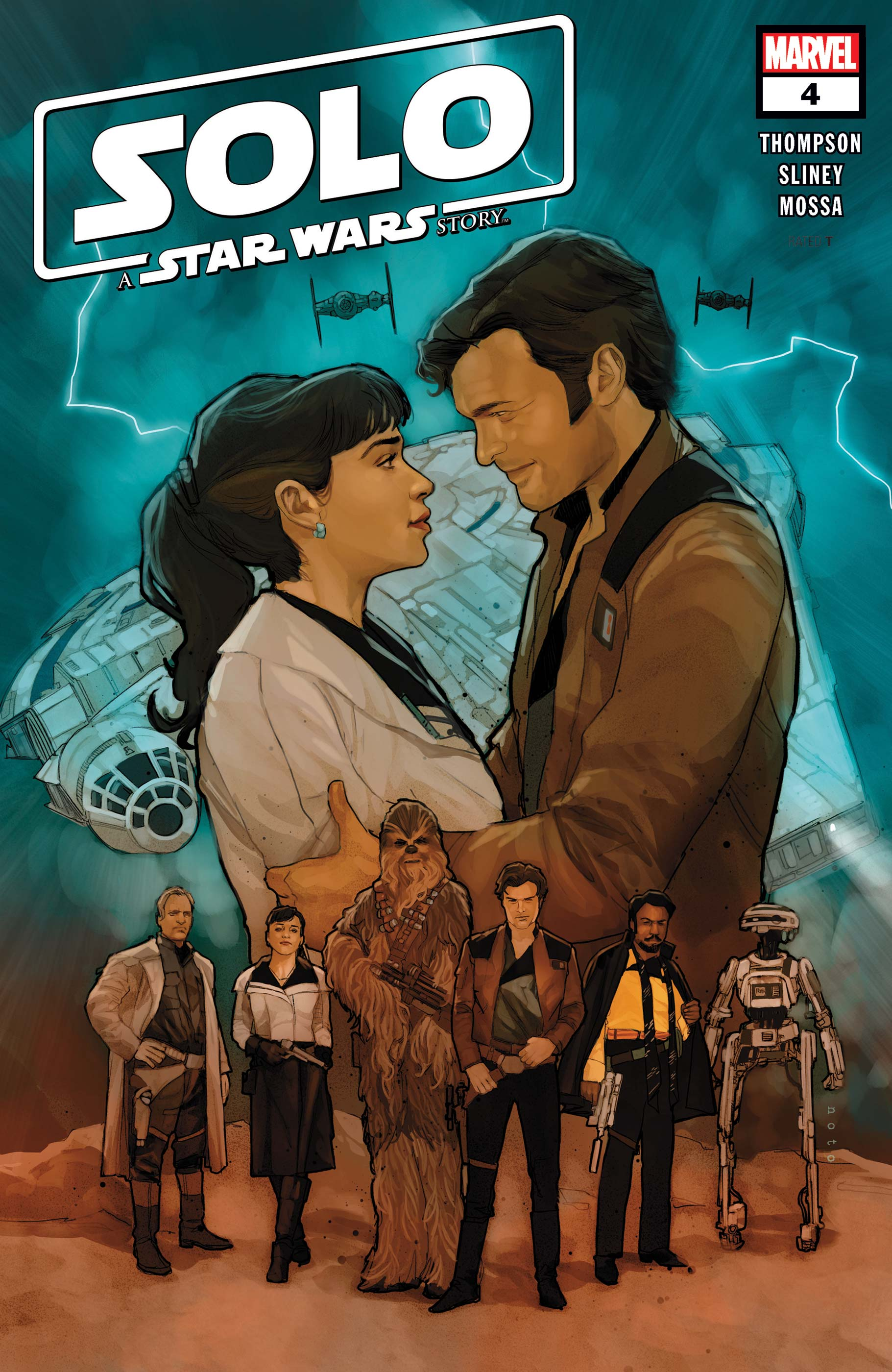 Solo: A Star Wars Story Adaptation (2018) #4