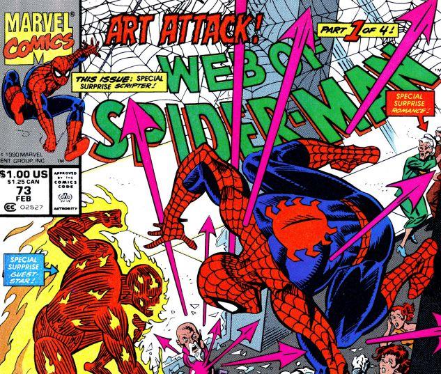 Web of Spider-Man (1985) #73