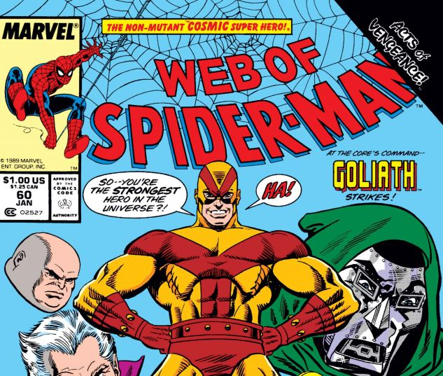 WEB OF SPIDER-MAN (1985) #60