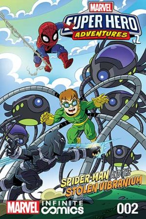 Marvel Super Hero Adventures: Spider-Man and the Stolen Vibranium #2