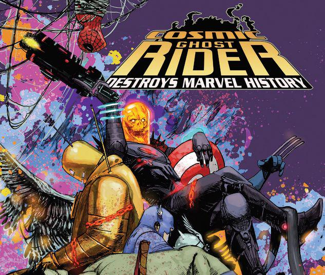 COSMIC GHOST RIDER DESTROYS MARVEL HISTORY TPB #2