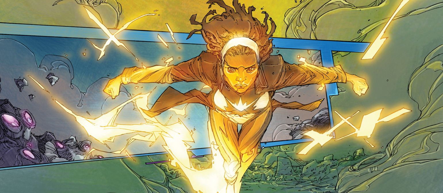 Monica Rambeau | Character Close Up | Marvel Comic Reading Lists